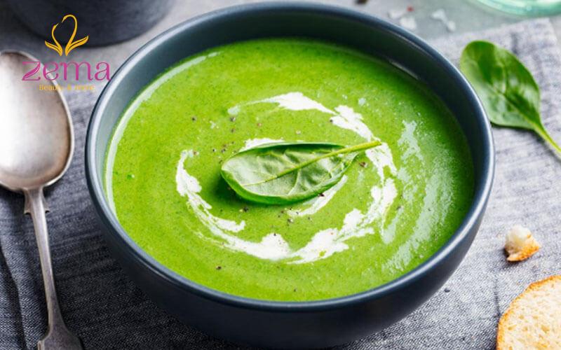 Bổ sung thêm súp rau củ trong thực đơn giảm cân
