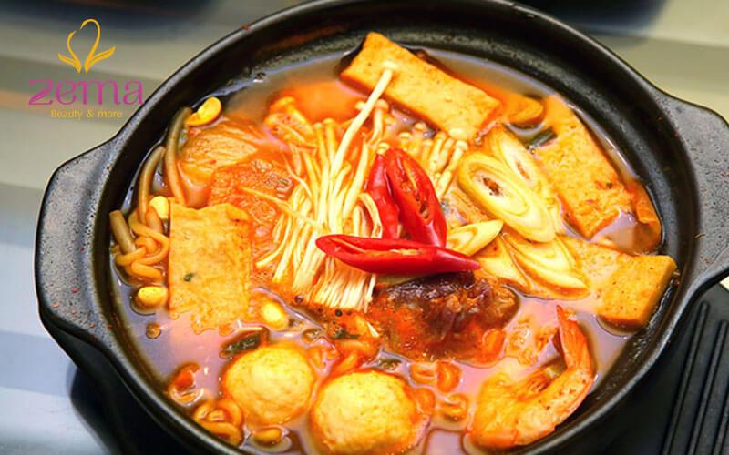 Kiêng đồ ăn cay nóng, chất kích thích sau khi phun hồng nhũ hoa