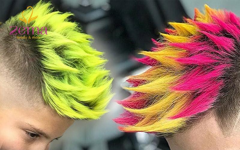 Màu sắc tóc cũng thể hiện cá tính của bản thân 1 cách rõ ràng