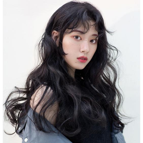 kiểu tóc Bohemian Hàn Quốc