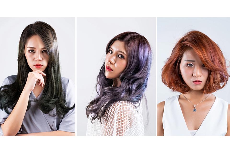màu tóc hot trend 2019