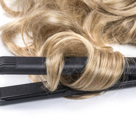 duỗi quá nhiều tóc
