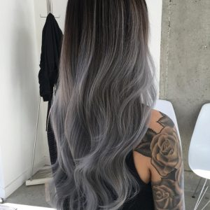 màu bạc tối