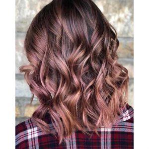 màu tóc ánh đồng