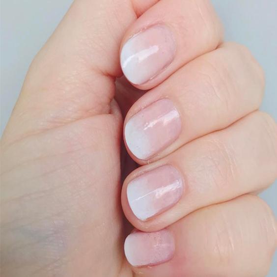 nail kiểu ombre