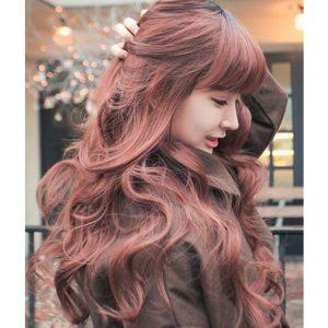 tóc màu đồng 2019