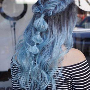xanh pastel ombre