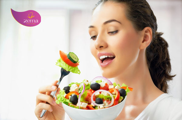 Chế độ ăn uống tốt cho da