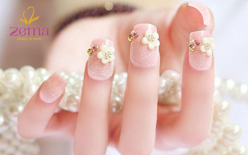 mẫu nail đẹp đơn giản 1
