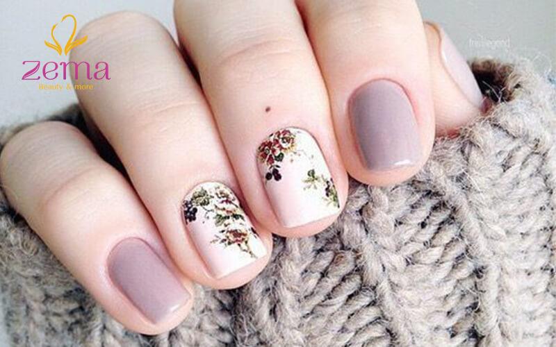 mẫu nail đẹp nhẹ nhàng 2
