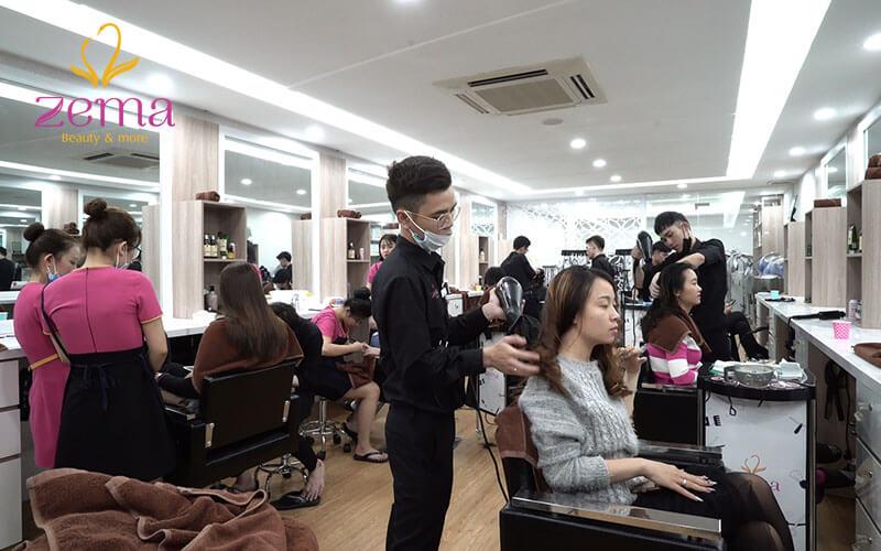 Khám phá dịch vụ ép tóc theo tiêu chuẩn quốc tế tại Zema Việt Nam