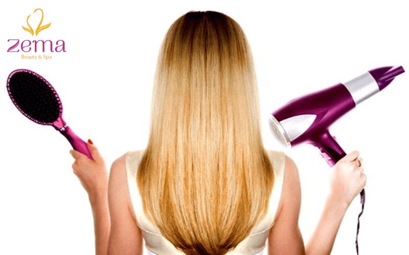 Quy trình sấy tạo kiểu cho mái tóc đẹp hoàn hảo trong tích tắc