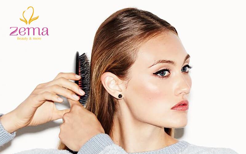 Phương pháp uốn tóc bằng cách đánh rối tóc