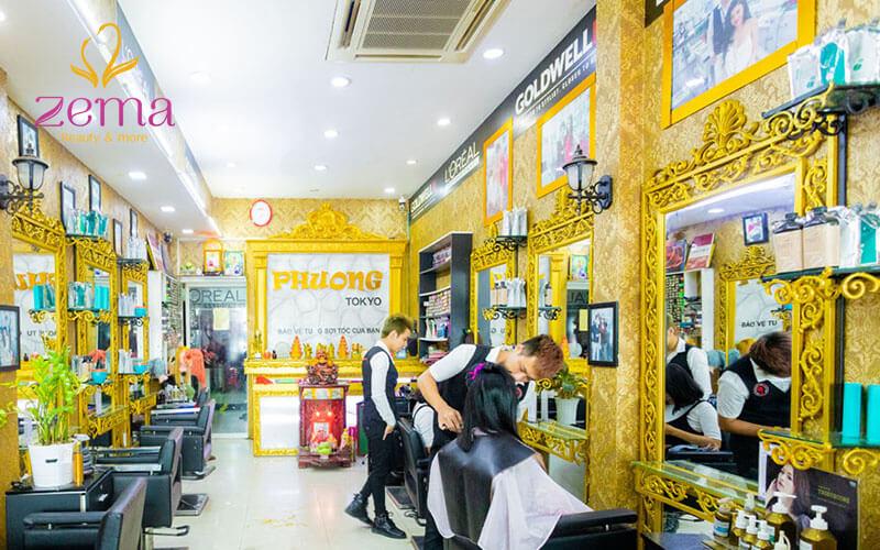 Yêu thích phong cách cá tính, nổi loạn hãy đến Beauty Salon Phuong Tokyo