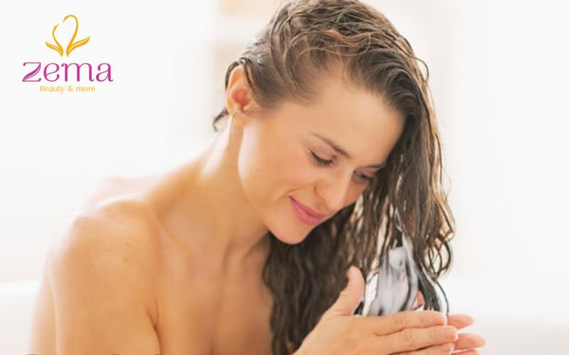 Nên dùng mặt nạ dưỡng ẩm cho tóc
