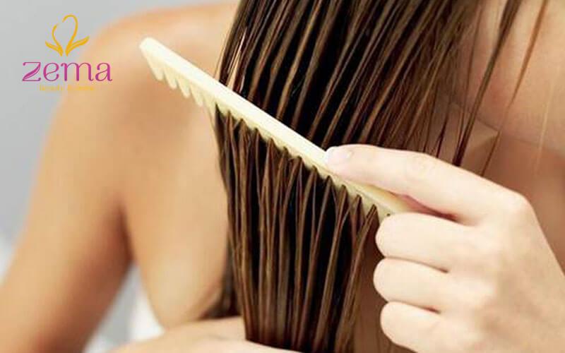 Để tóc khô tự nhiên sẽ giúp tóc khỏe hơn là dùng nhiệt