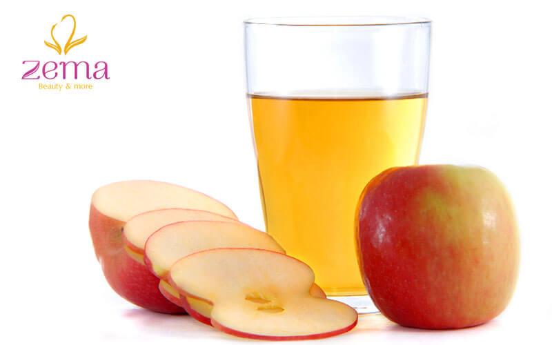 Giấm táo giúp da đầu thông thoáng, tóc khỏe mạnh, thẳng mượt tự nhiên