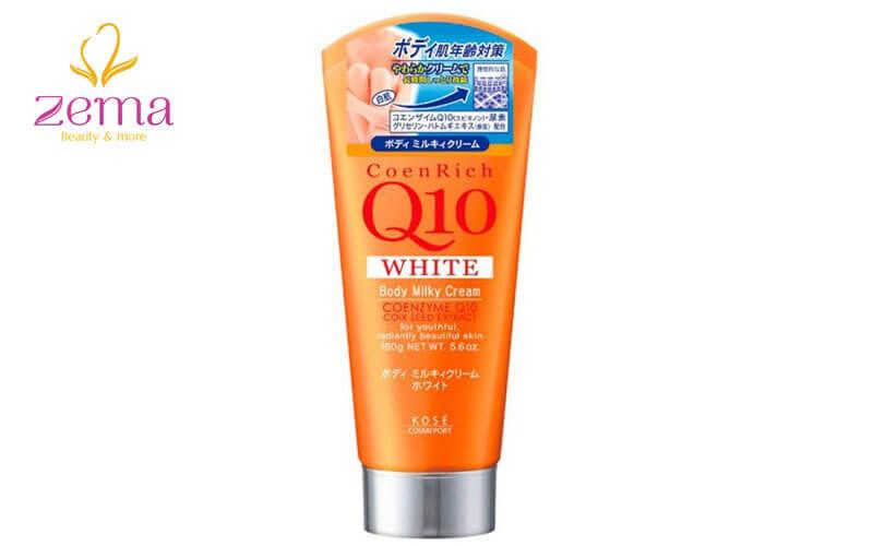 Kem dưỡng trắng da toàn thân Kose Q10 Coenrich