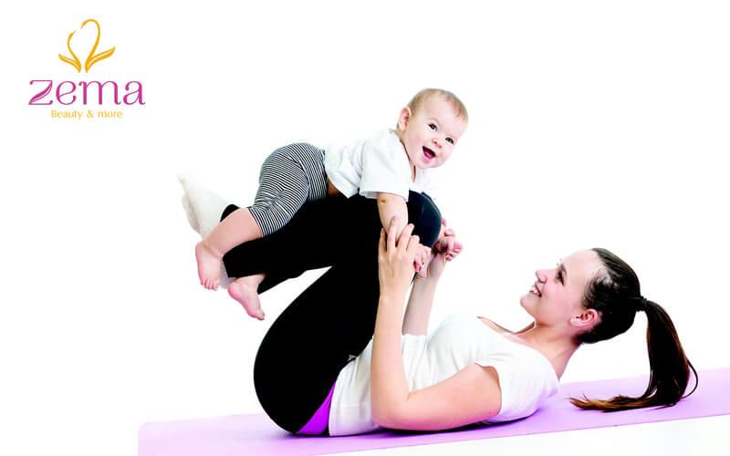 Bật mí bí quyết giảm cân sau sinh nhanh chóng cho những mẹ bỉm sữa