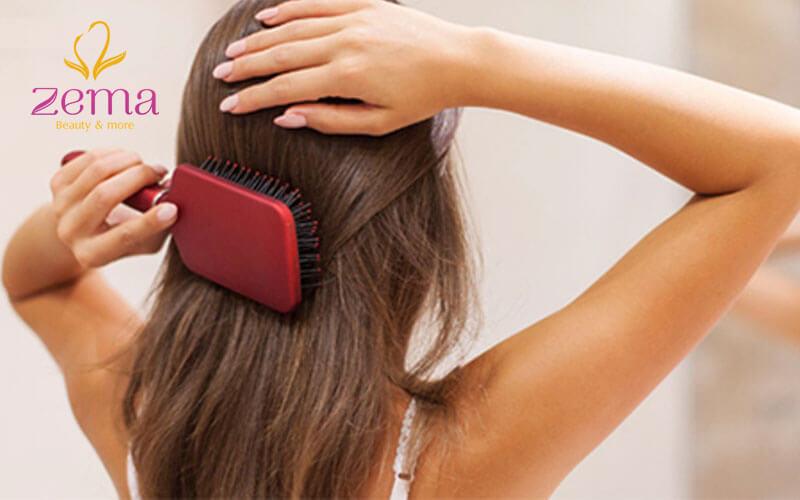 Cách phục hồi cho tóc bị hư tổn nhẹ