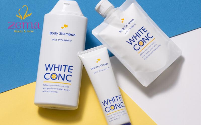 Kem dưỡng trắng dạng gel Marna Cosmetics White Conc Watery Cream Ⅱ