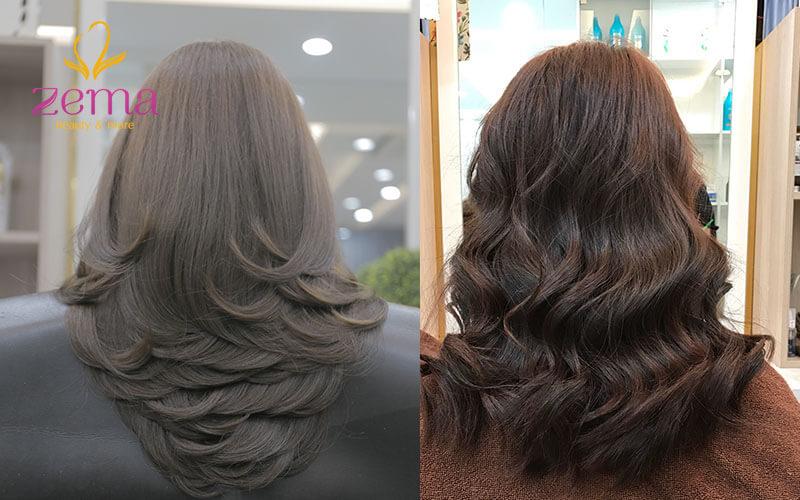 2 kiểu tóc hợp với tuổi 30 tại Zema Việt Nam