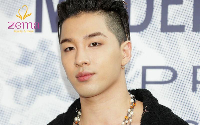 Kiểu tóc nam hợp với mắt một mí như Taeyang nhóm Bigbang