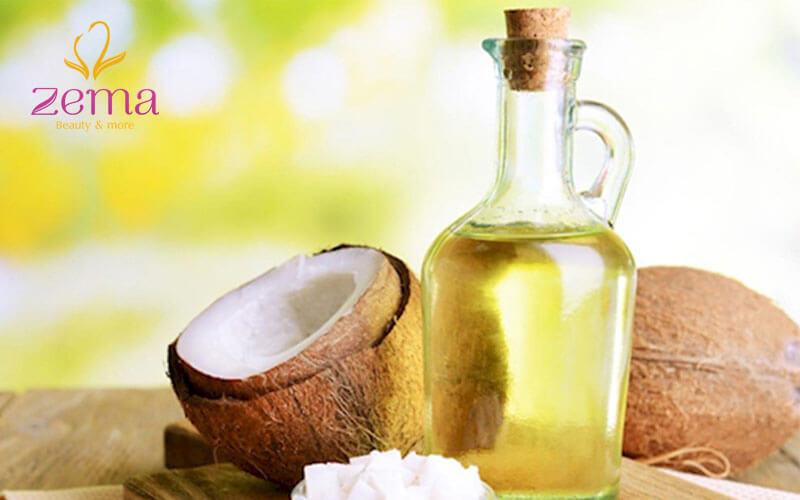 Sử dụng các loại dầu thiên nhiên để giúp tóc duỗi lấy lại độ mềm mượt bồng bềnh