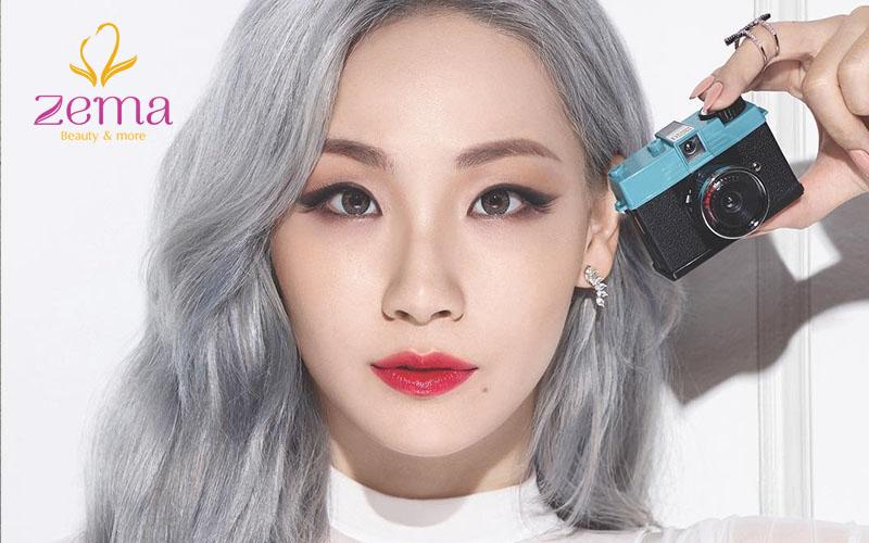 nhuộm tóc bạch kim đẹp nhất 2019