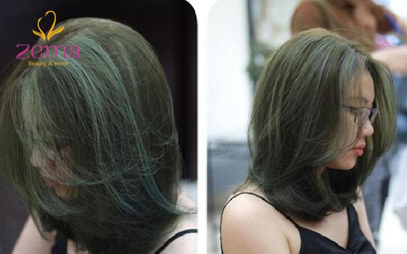Highlight xanh rêu chất phát ngất