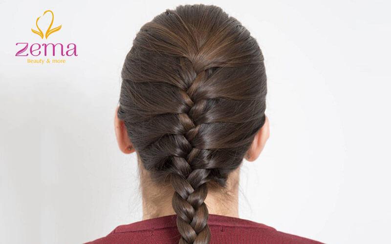 Nối tóc bao nhiêu tiền với kiểu tết đuôi sam ?