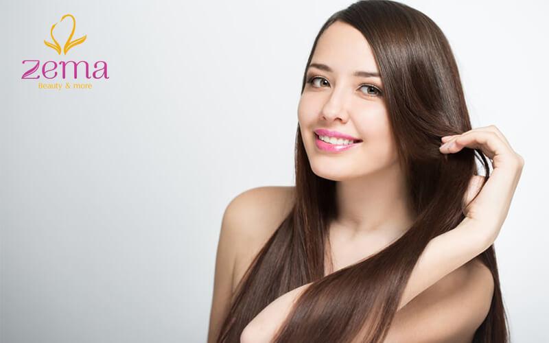 Chọn dầu gội phù hợp sẽ giúp khắc phục tình trạng tóc cháy