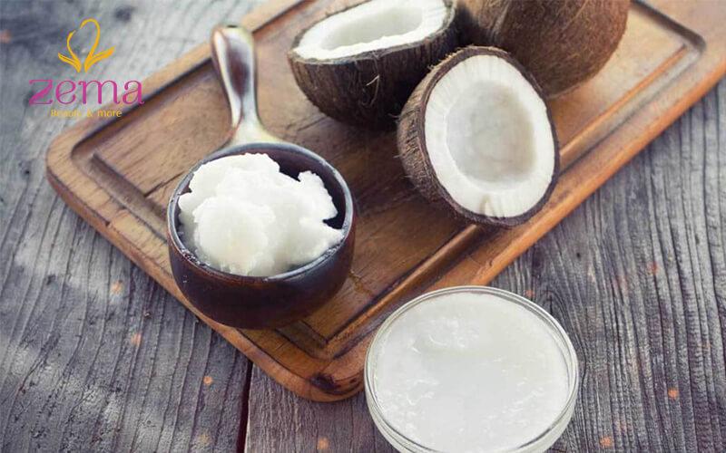 Phục hồi tóc hư tổn bằng dầu dừa