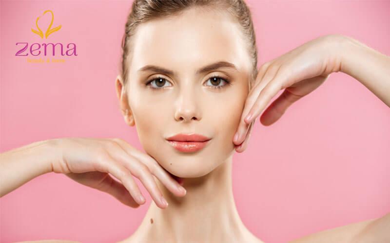 Sử dụng Serum thu nhỏ lỗ chân lông giúp làn da mịn màng
