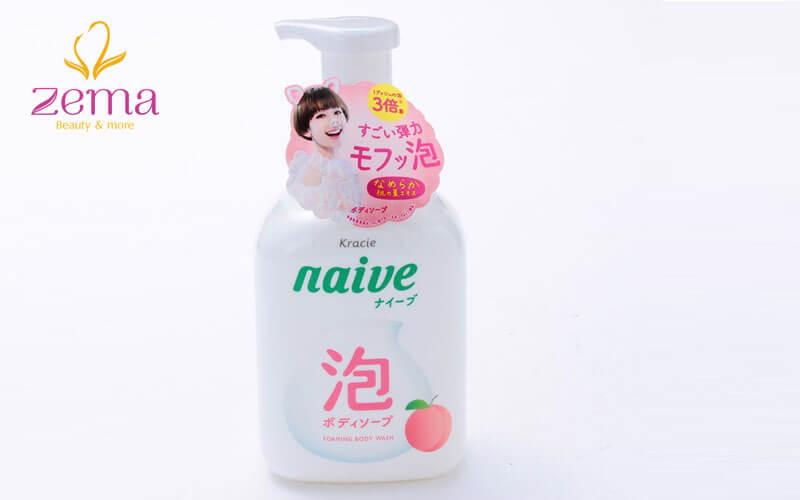 Sữa tắm trắng da Kracie Navie