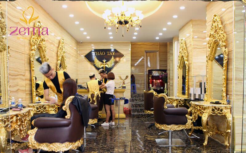 Salon Thảo Tây nổi tiếng với chế độ bảo hành tóc