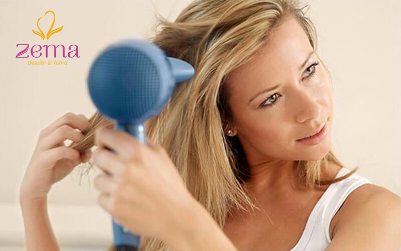 Không nên lạm dụng phương pháp sấy khô bằng nhiệt cho tóc