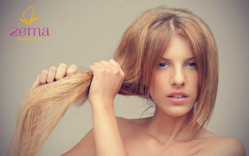 Kết hợp giữa dầu gội hoặc dầu xả dưỡng ẩm để làm sao cho tóc duỗi trở lại bình thường