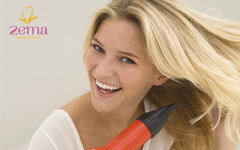 Hạn chế sử dụng máy sấy cho tóc