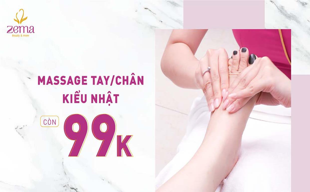 massage tay chân kiểu nhật 99k