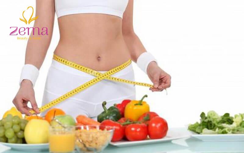 Chế độ ăn giảm mỡ bụng lấy lại vóc dáng cấp tốc