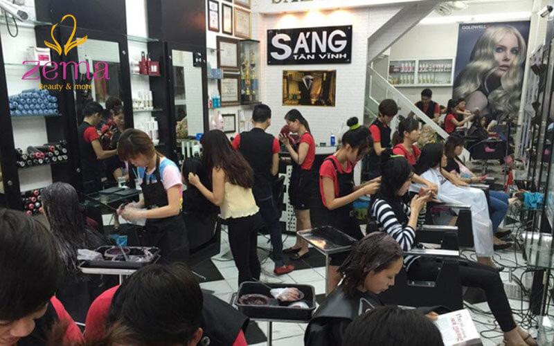 Hair Salon Sáng Tân Vĩnh là điểm đến quen thuộc của nhiều người nổi tiếng