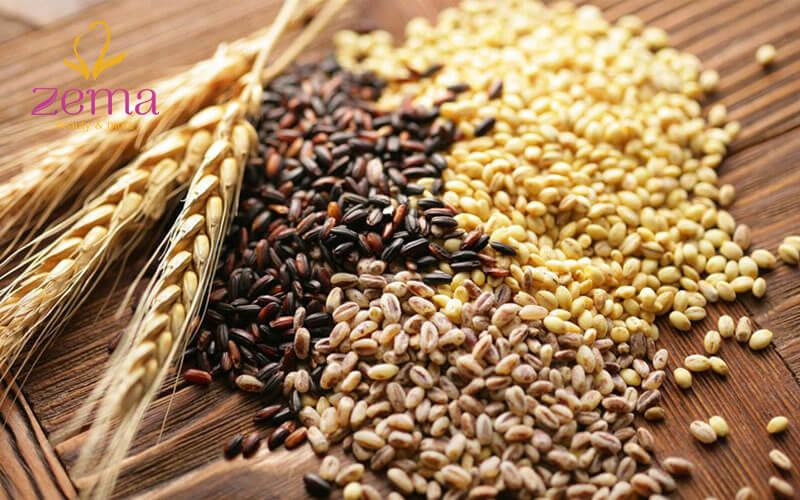 Sử dụng ngũ cốc nguyên hạt trong chế độ ăn giảm mỡ bụng