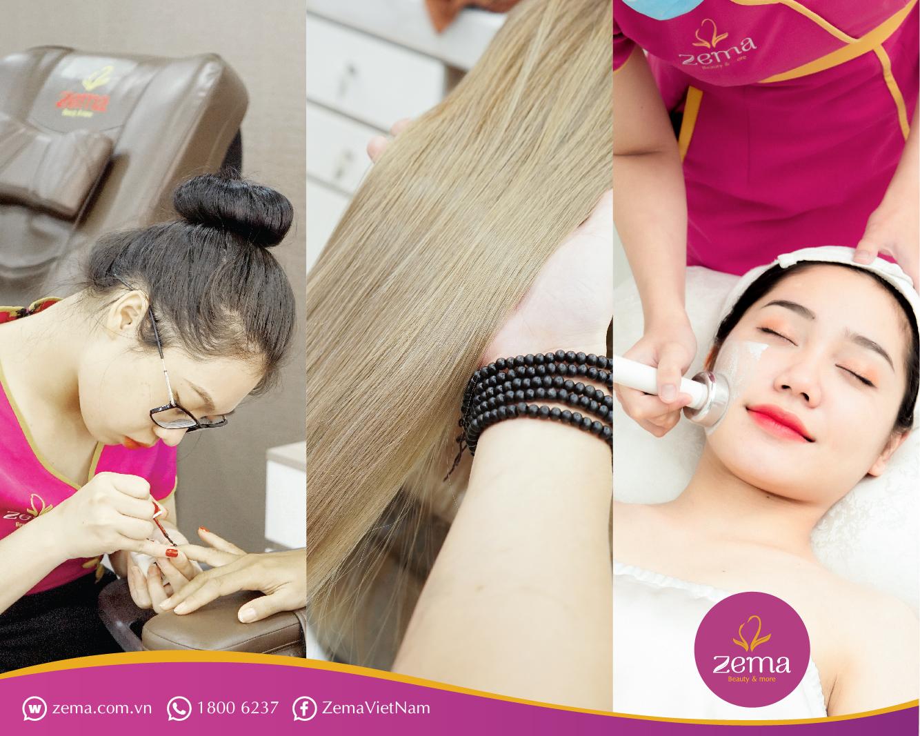 Hệ thống nail hair spa