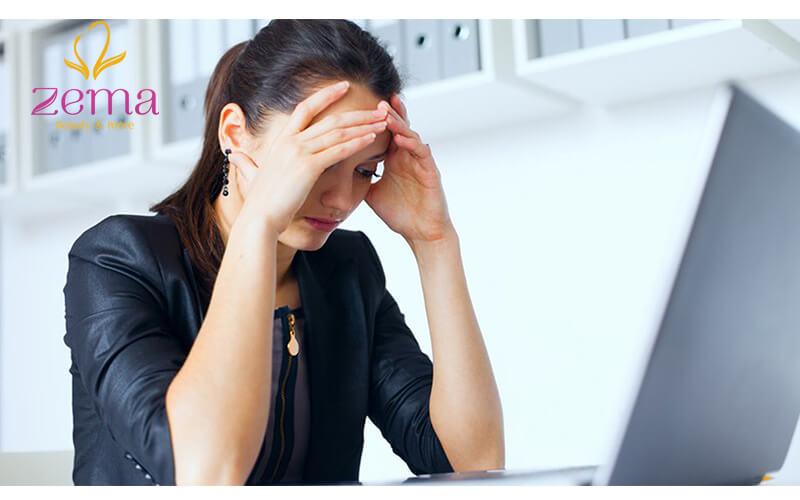 Dị ứng do căng thẳng, stress kéo dài