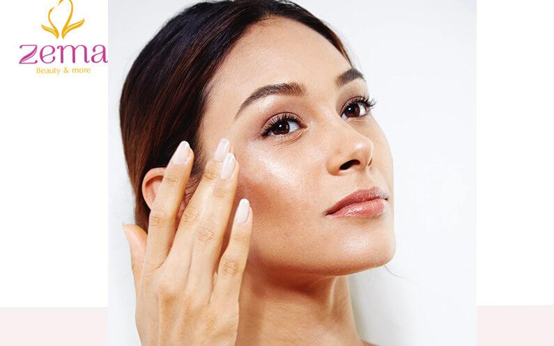 Da mặt ngứa nhẹ khi bị dị ứng mỹ phẩm
