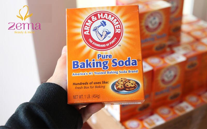 Cách làm cho móng tay trắng đẹp với baking soda