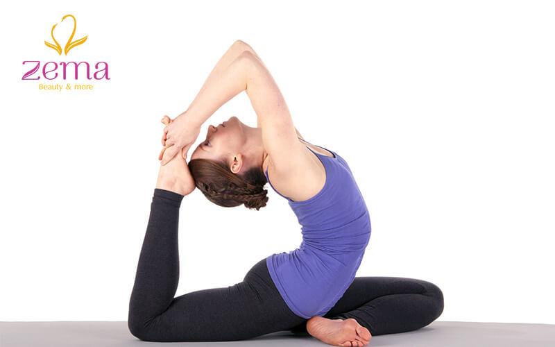 Chữa mặt nọng bằng yoga