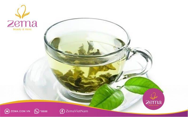 Trị rụng tóc bằng trà xanh