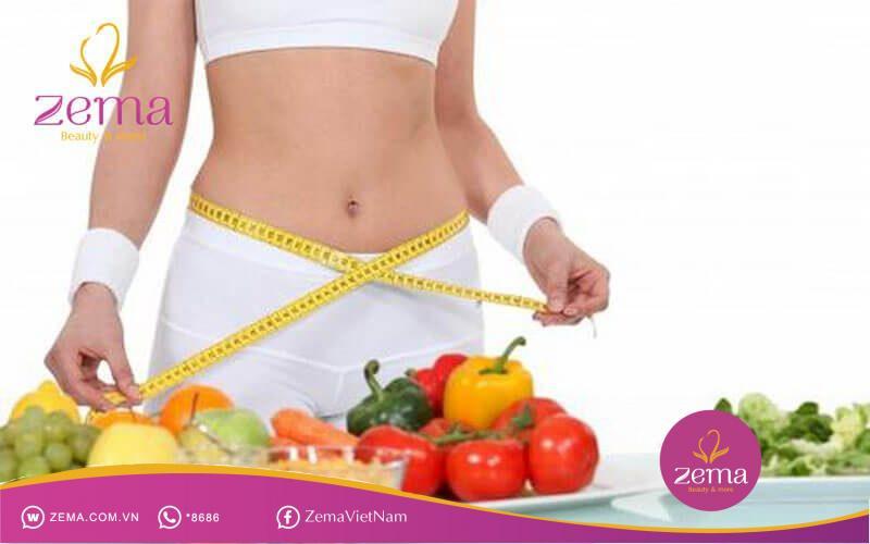 Chế độ ăn hợp lý giúp cho bạn lấy lại vóc dáng cấp tốc